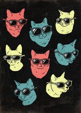 Cool Cats - By Ronan Lynamcat / cats / kitty / kittie ...