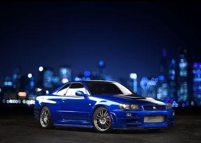 '99 Nissan Skyline GTR