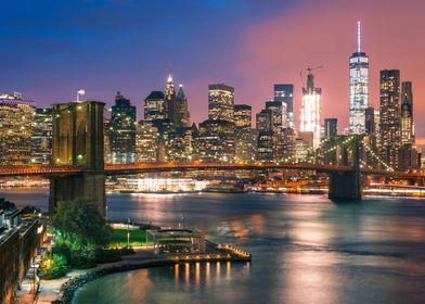 Brooklyn Bridge and WTC