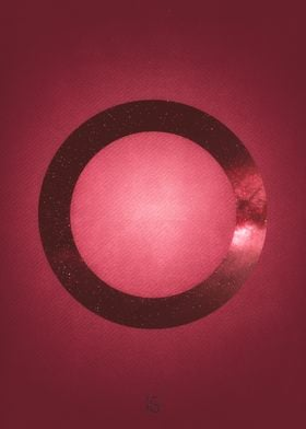 The circle is part of a collection of 4 illustration re ...