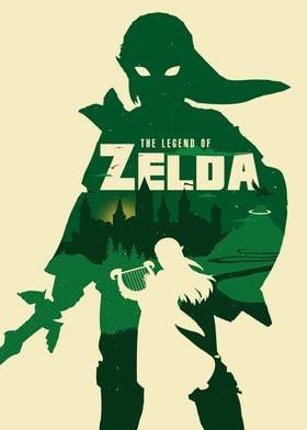 The legend of zelda fan ar