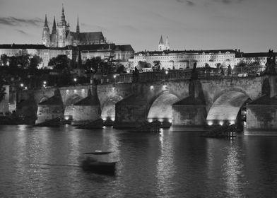 Castle and Charles Bridge, Prague