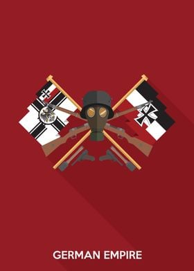 Simple Flat Design Inspired by the German Empire During ...
