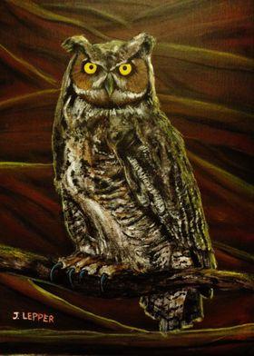 """Bubo: Owl of Ga' Hoole"" (2016) by Jack Lepper. Inspire ..."