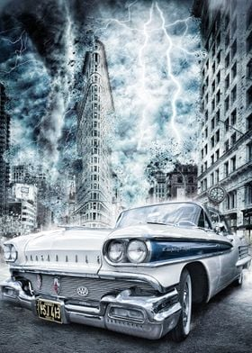 combining old cars with scifi to create something diffe ...