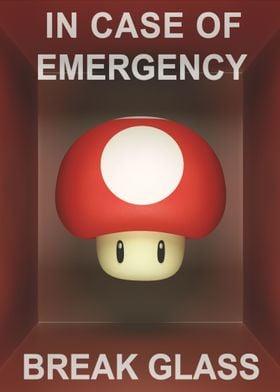 In case of emergency... Mushroom!