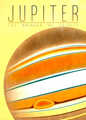 Jupiter - The Bringer of Jollity 5/9 in the complete se ...