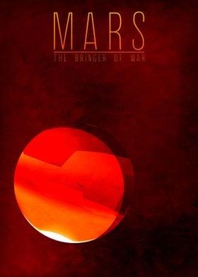 Mars - The Bringer of War 4/9 in the complete set of pl ...