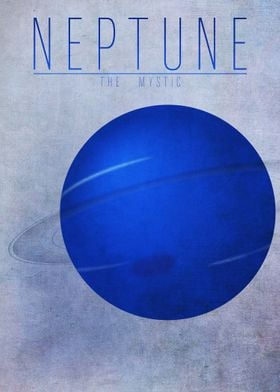 Neptune - The Mystic 8/9 in the complete set of planets ...