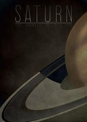Saturn - The Bringer of Old Age 6/9 in the complete set ...