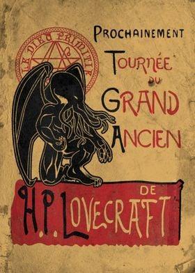 Tournee du grand ancien. cthulhu the ancient god.