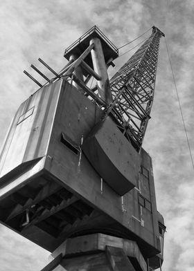 Abandoned Ship Yard Crane