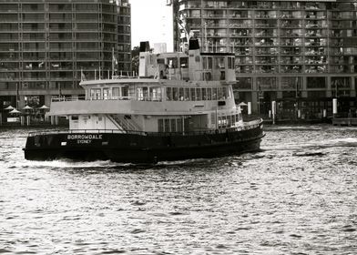 Sydney ferry on Sydney Harbour