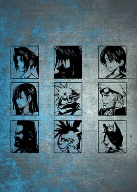 """Choose Your Hero"" Final Fantasy 7"