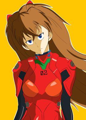 Angry Asuka Langley Soryu