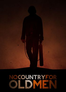 Fan made art for the film No Country For Old Men.