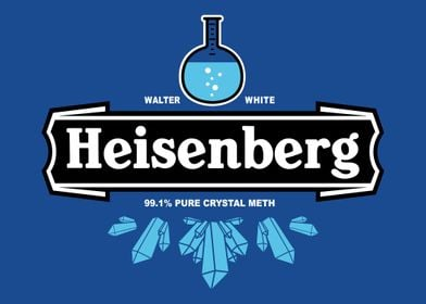 Walter's new formula of a 99.1% pure crystal meth, dist ...