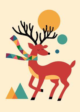 Deer autumn - I feel more like myself when fall rolls a ...