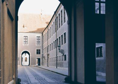 Street in Munich. Germany.
