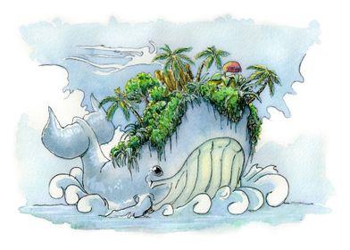Whale island.