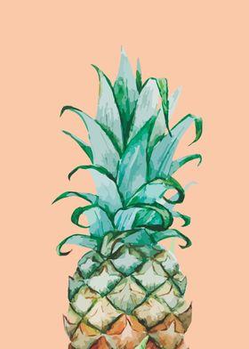 An pinky pineapple