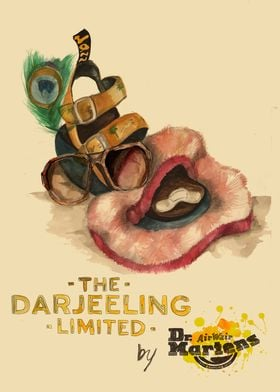 The Darjeeling Limited with Dr. Martens. Cinema poster. ...