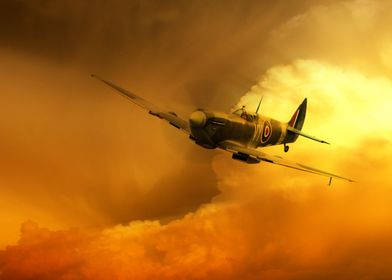 The Iconic Supermarine Spitfire