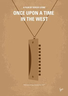 No059 My once upon a time in the west minimal movie pos ...