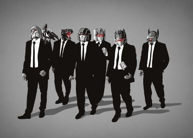 """Reservoir Cons"" . Most badass decepticons and Reservoi ..."