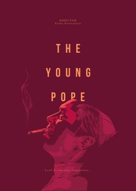 The Young Pope - Alternative series poster