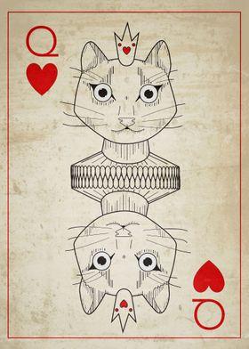 Queen of Hearts Cat