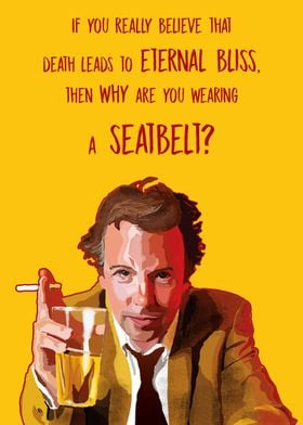 A digital portrait of the famous comedian Doug Stanhope ...