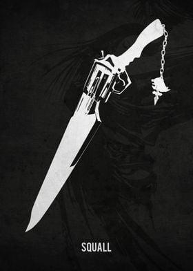 Legendary Weapons - Squalls Leonhart's Gunblade