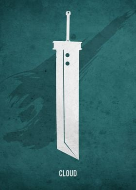 Legendary Weapons - Cloud Strife's Buster Sword