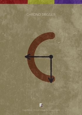 Chrono Trigger. Minimal Videogame Poster.