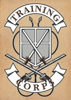 Training Corps crest from Attack on Titan.