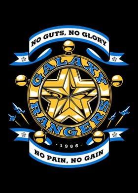 """No Guts, No Glory"" from Galaxy Rangers cartoons"