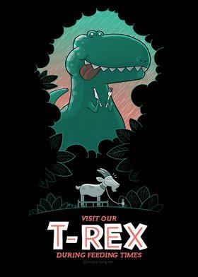 Visit the T-Rex - not trau
