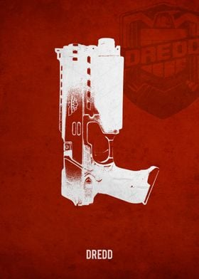 Legendary Weapons - Dredd's Lawgiver