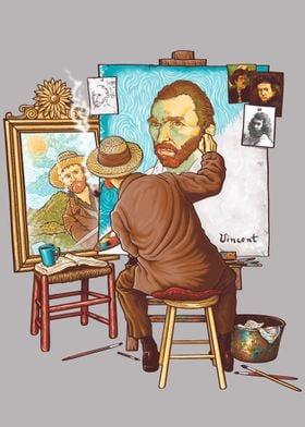 """""""Van Gogh Triple Self-Port"""