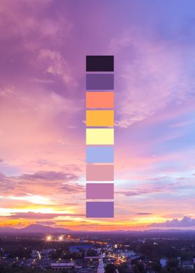 Natures Palette - Above the city