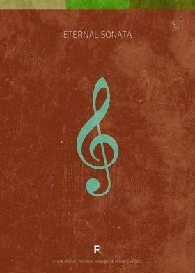 Eternal Sonata. Minimal Videogame Poster.