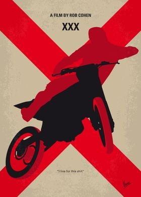 No728 My xXx minimal movie poster An extreme sports at ...