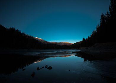Winter Sunset | Photography, 2016, Nikon D750