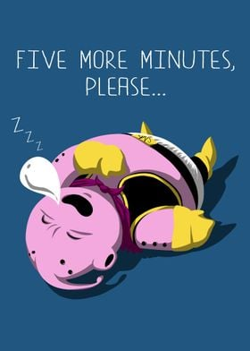 Five more minutes for Buu