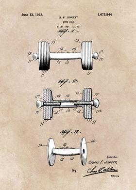 patent art Jowett Dumb Bell 1927
