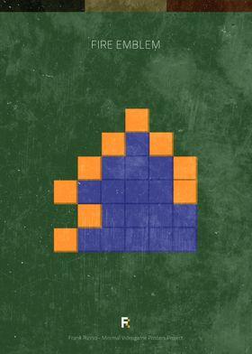 Fire Emblem. Minimal Videogame Poster.