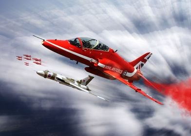 Red Arrows and XH558 farewell tour