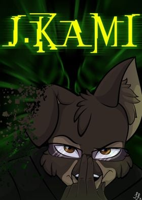 J.Kami, a Poster I made for one of my closest friends a ...