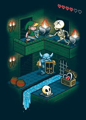 Through the Dungeon